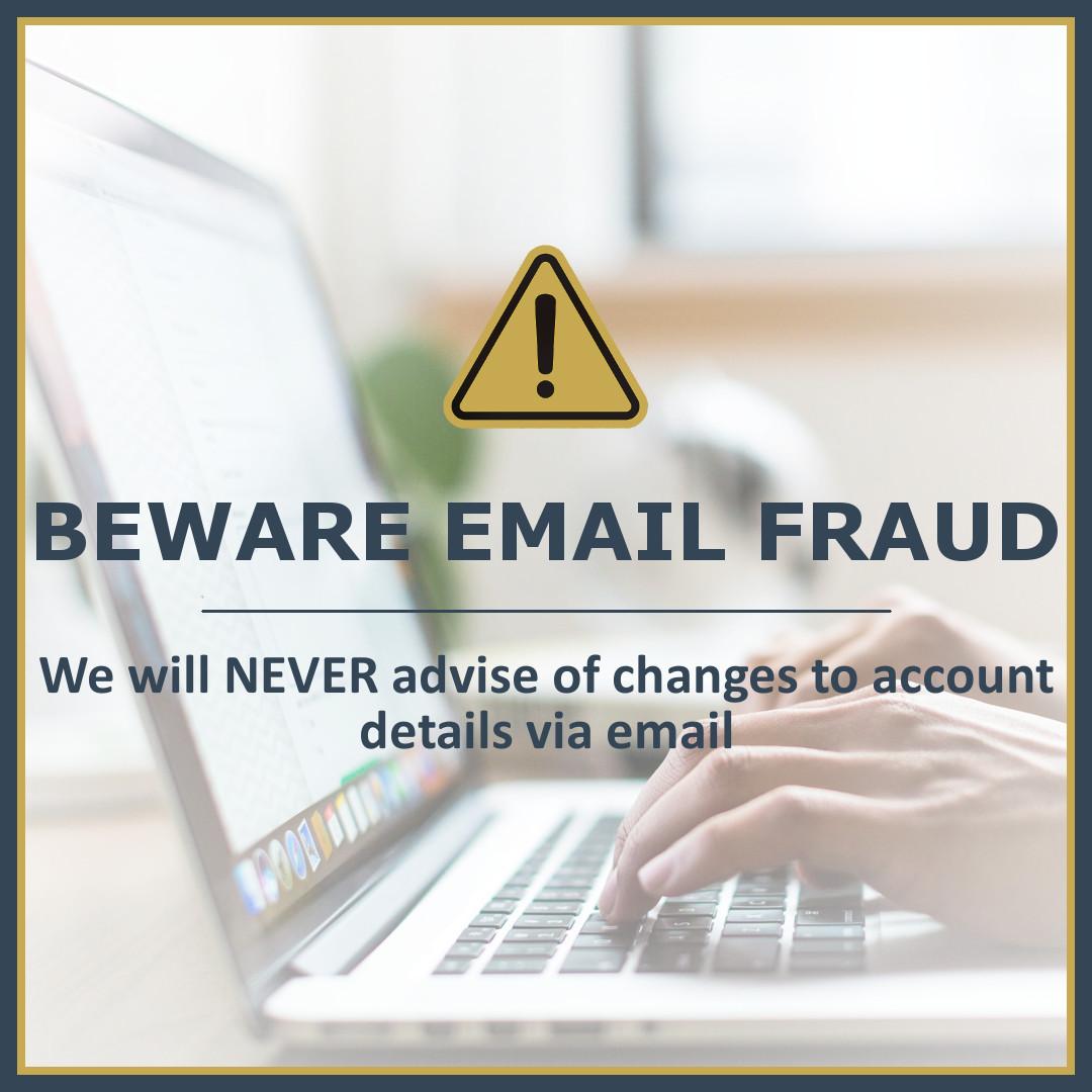 Beware Email Fraud!