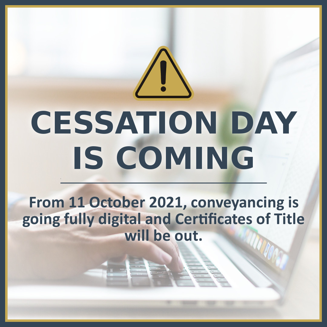 Cessation Day is Coming